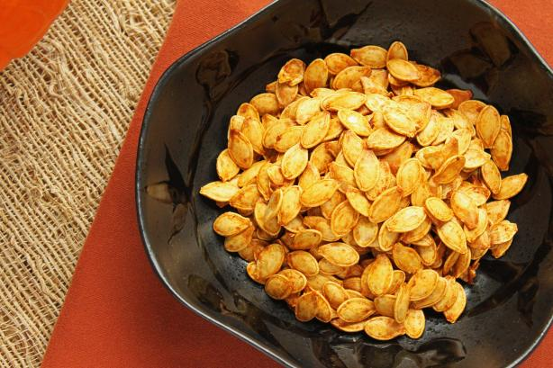Roasted Pumpkin Seeds. Photo by Simply Fresh Cooking
