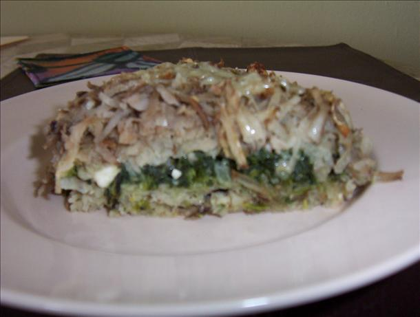 Spinach Potato and Feta Bake. Photo by Karen67