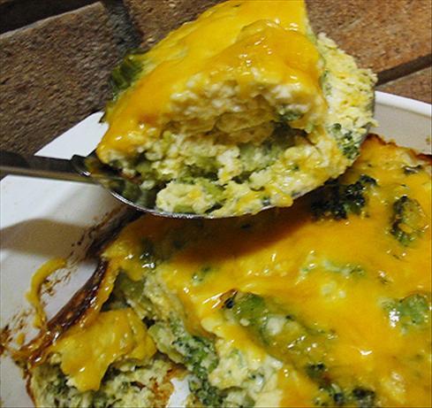 Broccoli- Cheese Casserole. Photo by Caroline Cooks