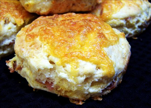 Cheddar And Bacon Buttermilk Scones Recipe - Food.com