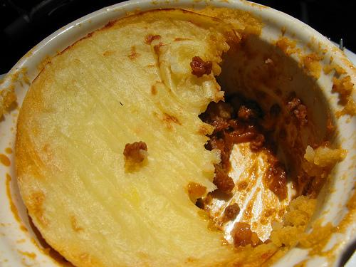 Vegetarian Shepherd's Pie. Photo by blonder