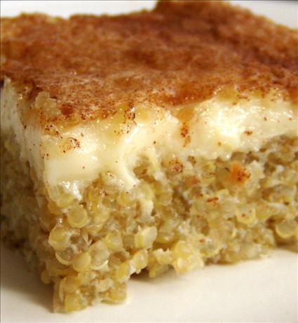 Quinoa Pudding. Photo by Heather'sKitchen