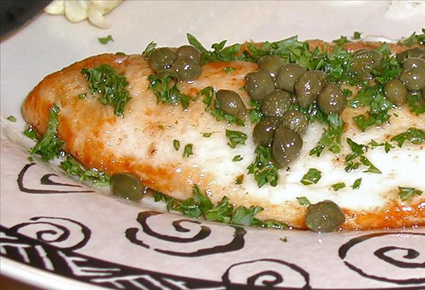 Sole Meuniere With Browned Butter Caper Sauce Recipe ...