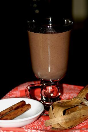 Champurrado (Chocolate Atole). Photo by Jostlori