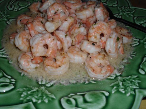 Pan Seared Shrimp With Garlic-Lemon Butter Recipe - Food.com