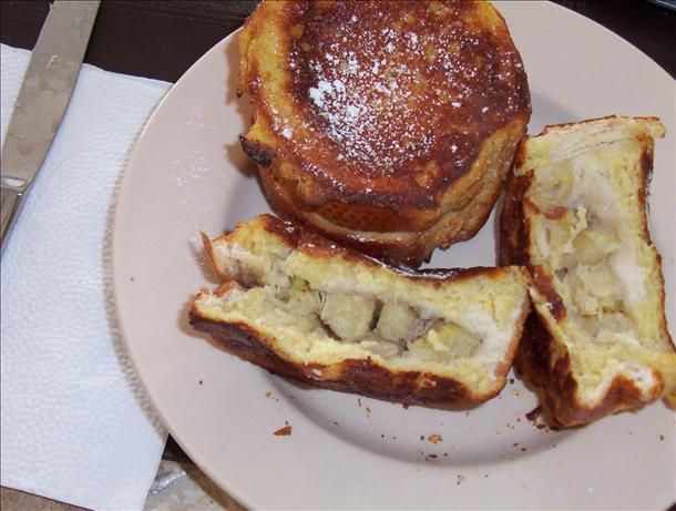 Banana-Stuffed French Toast Sunday Morning Yummy!. Photo by Karen67