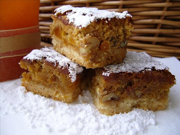 Apricot Bars With Shortbread Crust. Photo by 5thCourse