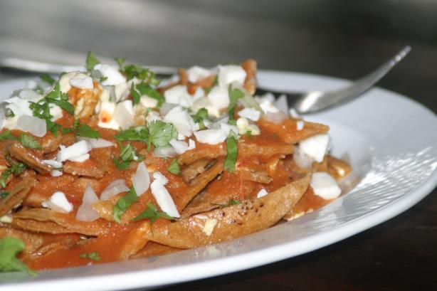 Guadalajara Style Chilaquiles Recipe Food Com
