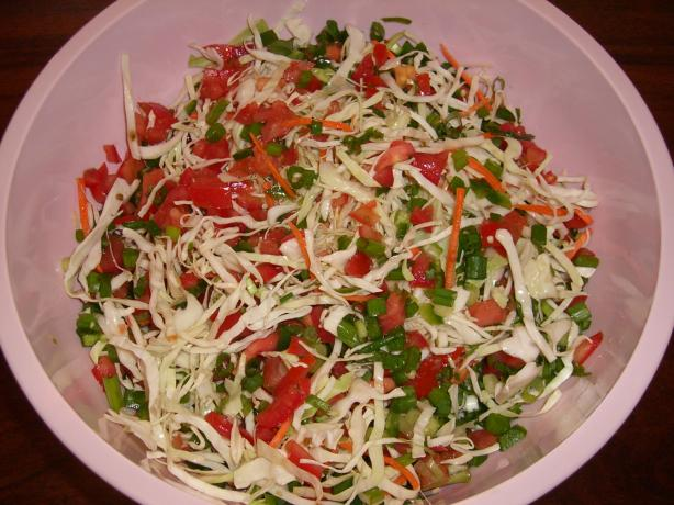 Jalapeno Coleslaw. Photo by Chef*Lee