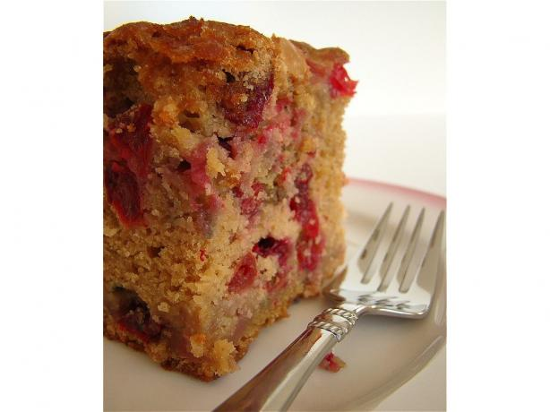White Chocolate Fresh Cranberry Coffee Cake. Photo by Marg ...