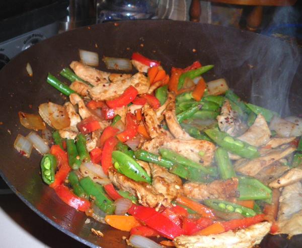 Pork And Green Bean Stir-Fry With Peanuts Recipe - Food.com