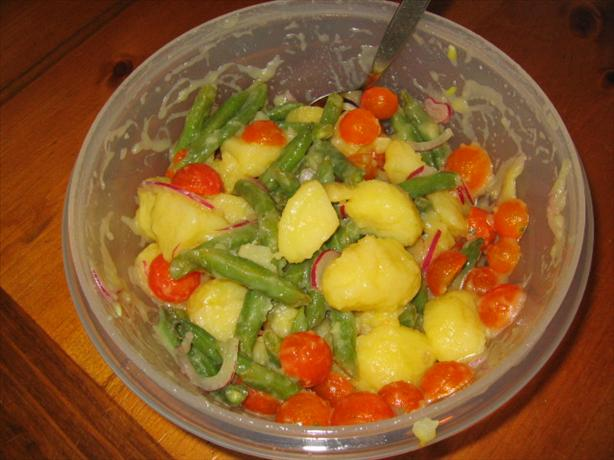 Potato, Cherry Tomato And Green Bean Salad Recipe - Food.com
