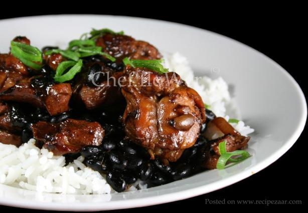 Stir-Fried Chicken in Black Bean Sauce. Photo by Chef floWer