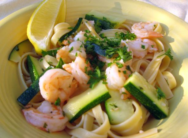 Olive Garden Fettuccine With Shrimp And Zucchini Recipe