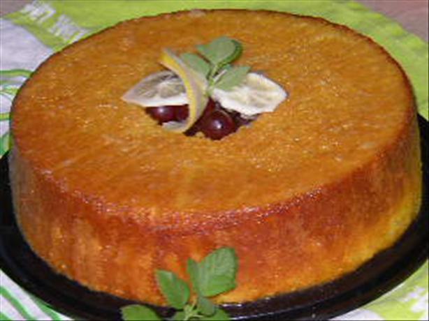 Easy Lemon Bundt Cake. Photo by cornmaiden8