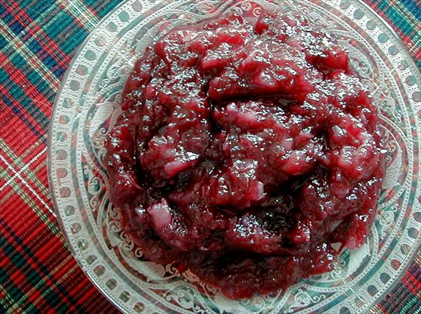 Spicy Cranberry Relish easy fast recipe