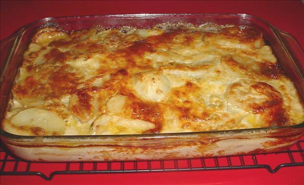 Blue Cheese Mushroom And Onion Potato Gratin Recipe - Food.com
