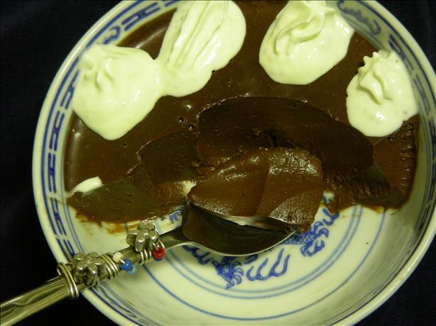 Super Simple Blender Chocolate Mousse. Photo by kiwidutch