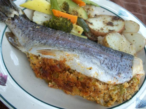 Stuffed Trout (Campside or Grilled). Photo by Marsha D.