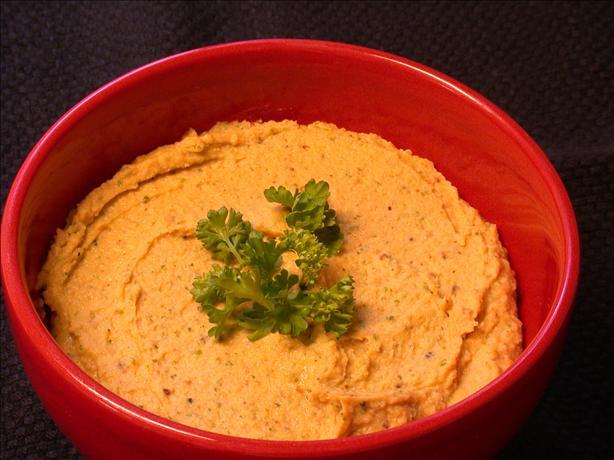 Curried Hummus. Photo by Buckeye Chris