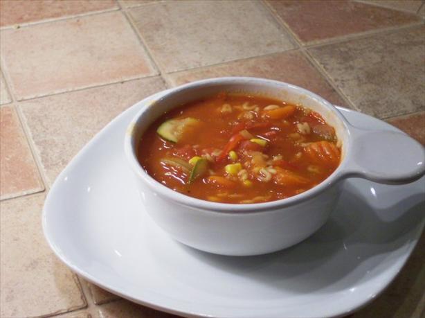 Tomato Vegetable Soup Recipe Garden tomato soup — recipes hubs