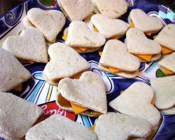 Cheddar And Chutney On Brioche Tea Sandwiches Recipe