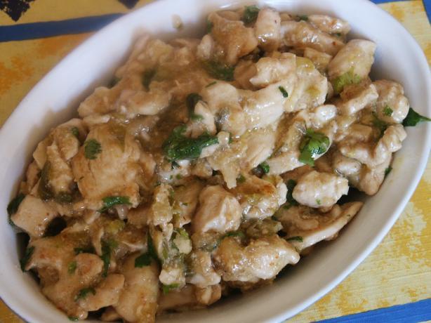 Super Quick Thai Flavoured Stir-Fried Chicken.. Photo by kiwidutch