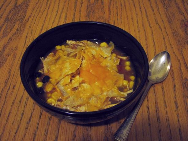 Can Chicken Tortilla Soup. Photo by cookandcookagain