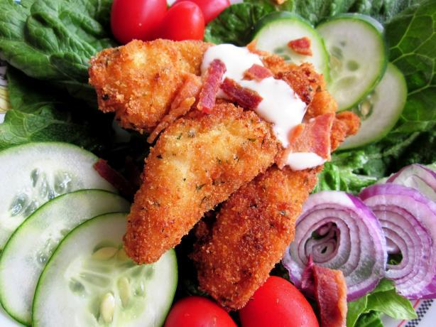Fried Chicken BLT Salad. Photo by gailanng