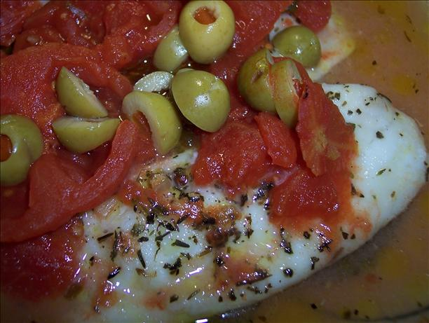 White Fish Provencal. Photo by Hey Jude
