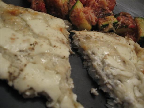 Baked Cod With Cheese. Photo by Engrossed