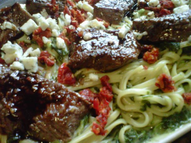 Steak Gorgonzola Andagrave La Olive Garden Recipe