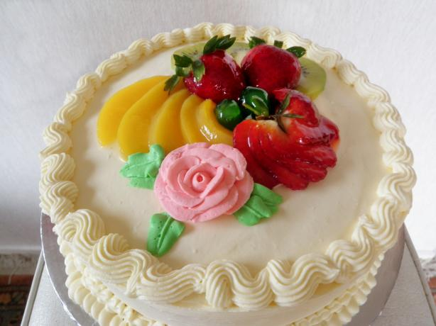 fruit glaze cake