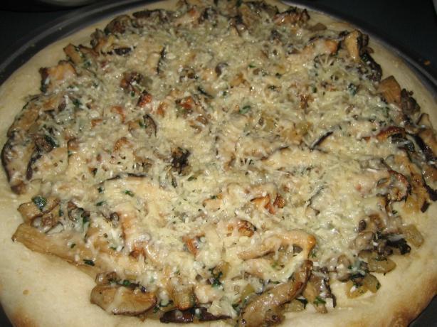 Wild Mushroom Pizza. Photo by Halcyon Eve