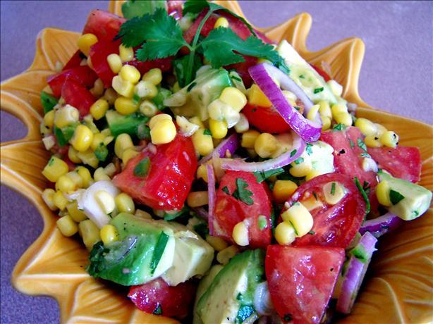 Avocado, Tomato And Corn Salad Salsa Recipe - Food.com