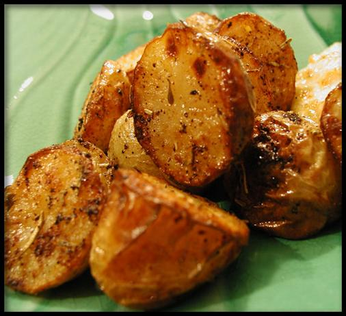 2.) Baby Potatoes With Rosemary easy fast recipe