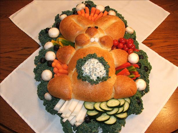 Bunny Bread W/Dip in Tummy!. Photo by Wildflour