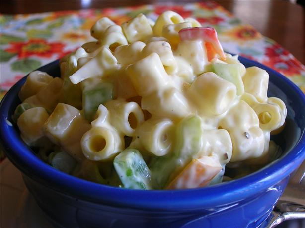 Easy Elbow Macaroni Salad. Photo by Pam-I-Am