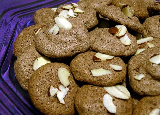 Chocolate Amaretti Cookies. Photo by justcallmetoni