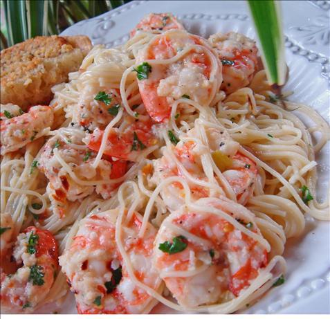 Kittencals Lemon Shrimp Scampi With Angel Hair Pasta Recipe - Food.com
