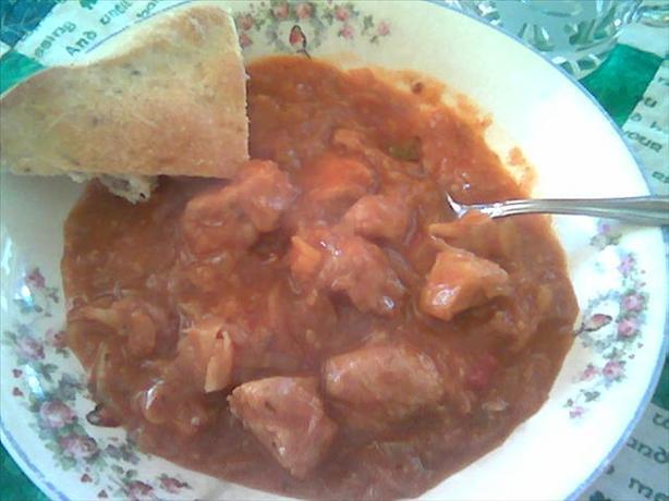 Pork And Sauerkraut Goulash Recipe - Food.com