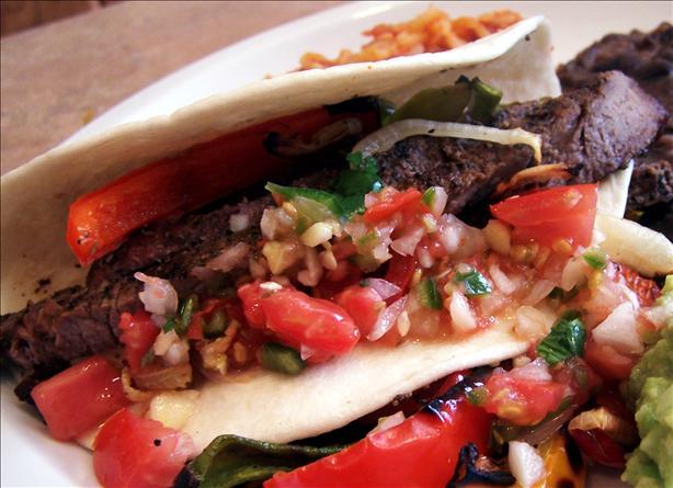 Skirt Steak Fajitas Recipe - Food.com