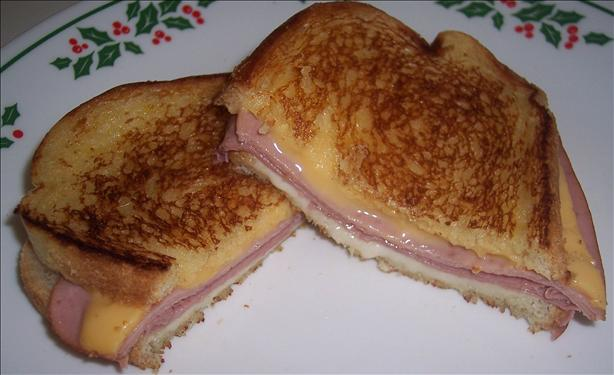 Grilled Ham And Cheese Sourdough Sandwiches Recipe - Food.com
