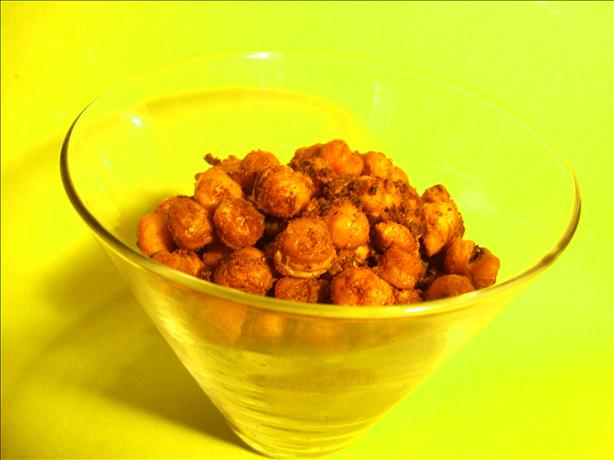 Spiced Roasted Chickpeas. Photo by Sharon123