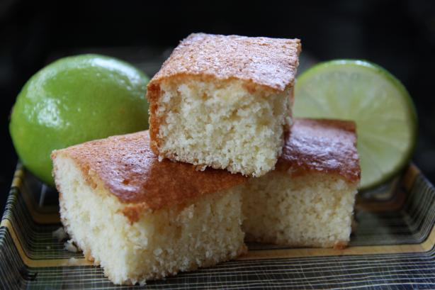 West African Lime Cake Recipe