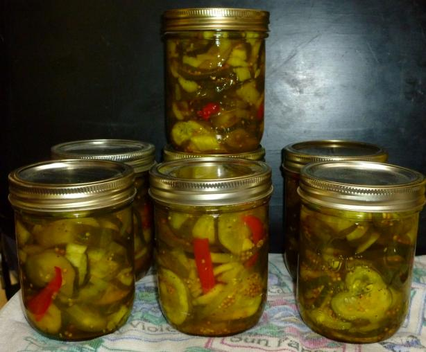 Bread and Butter Pickles. Photo by KrispiS