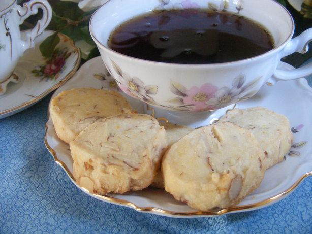 Almond-Orange Shortbread. Photo by Seasoned Cook
