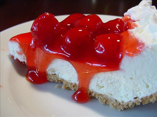 No Bake Cherry Cheesecake Pie. Photo by Sharlene~W