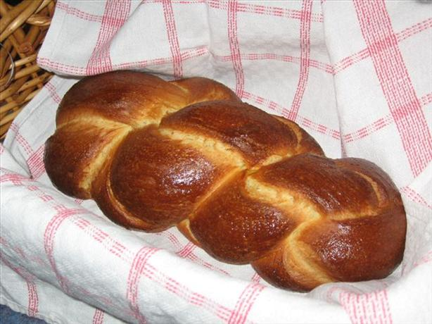 Zopf Traditional Swiss Plaited Breakfast Bread) Recipe ...