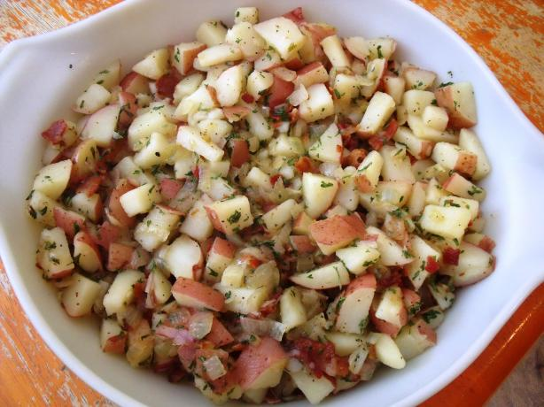 Authentic German Potato Salad. Photo by Maryland Jim